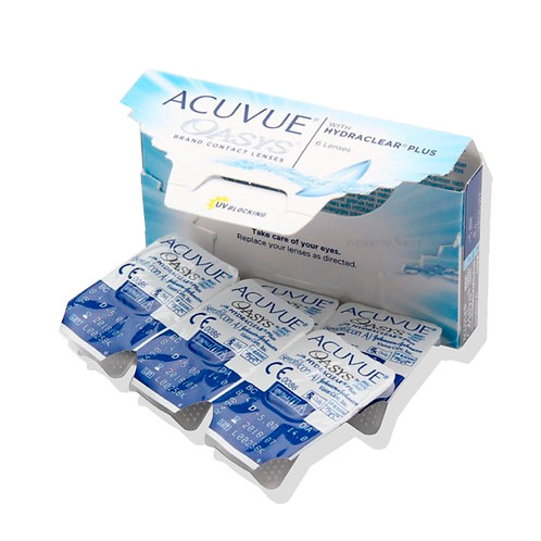 Линзы ACUVUE® OASYS® with HYDRACLEAR® PLUS