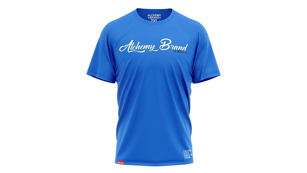 Alchemy T-Shirt - Turquoise/White