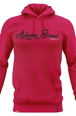 Alchemy Hoodie - Rose Pink/Black