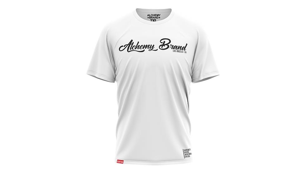Alchemy T-Shirt - White/Double Black