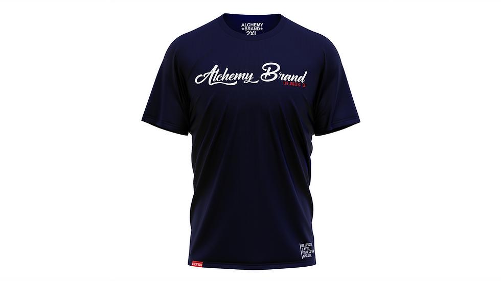 Alchemy T-Shirt - Navy/White