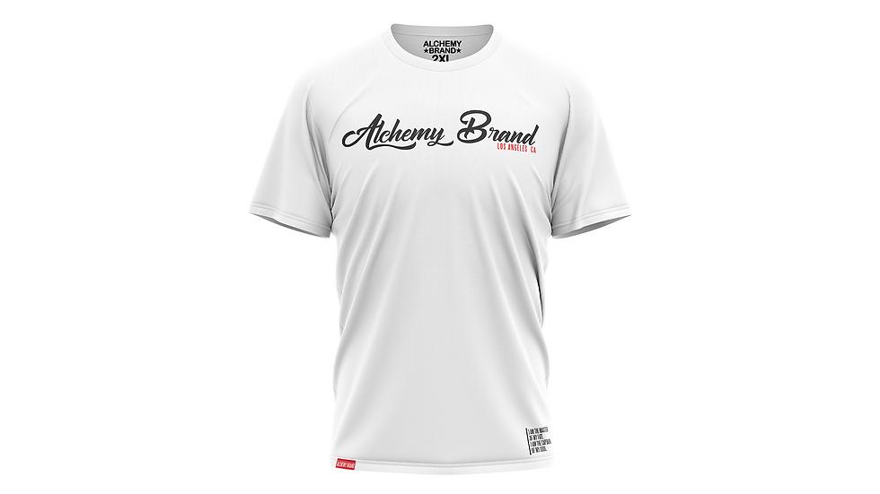 Alchemy T-Shirt - White/Black