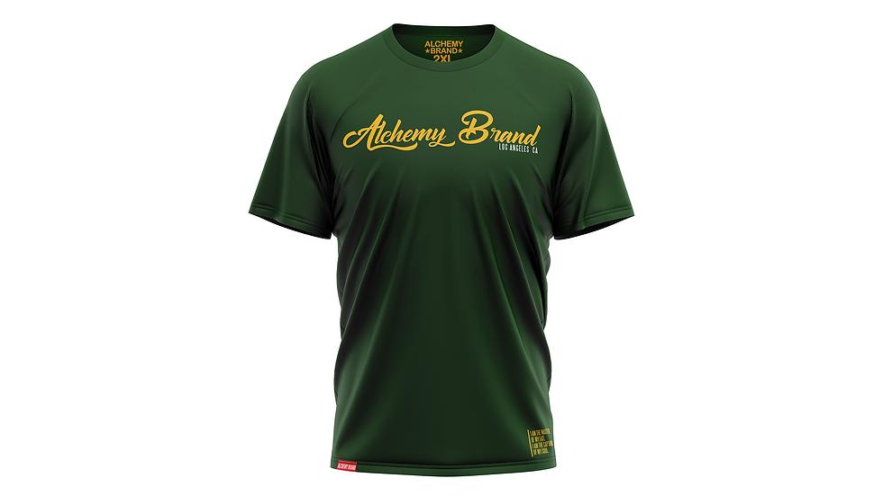 Alchemy T-Shirt - Green/Yellow