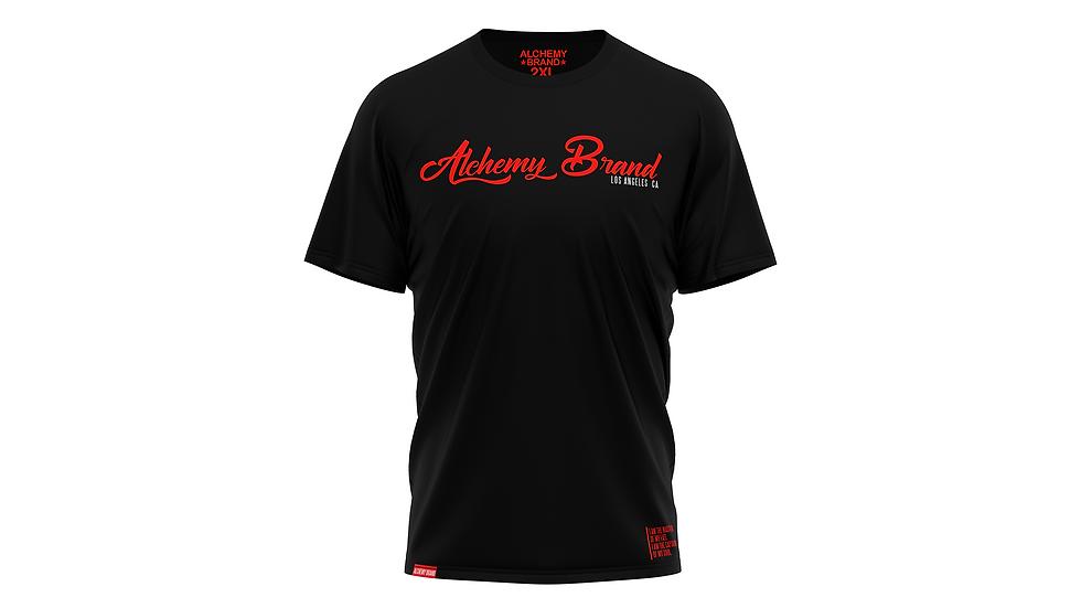 Alchemy T-Shirt - Black/Red