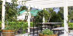 Designer gardens pergola