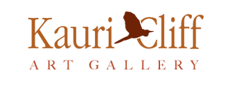 Kauri Cliff Art Gallery, Whangamata, New Zealand logo
