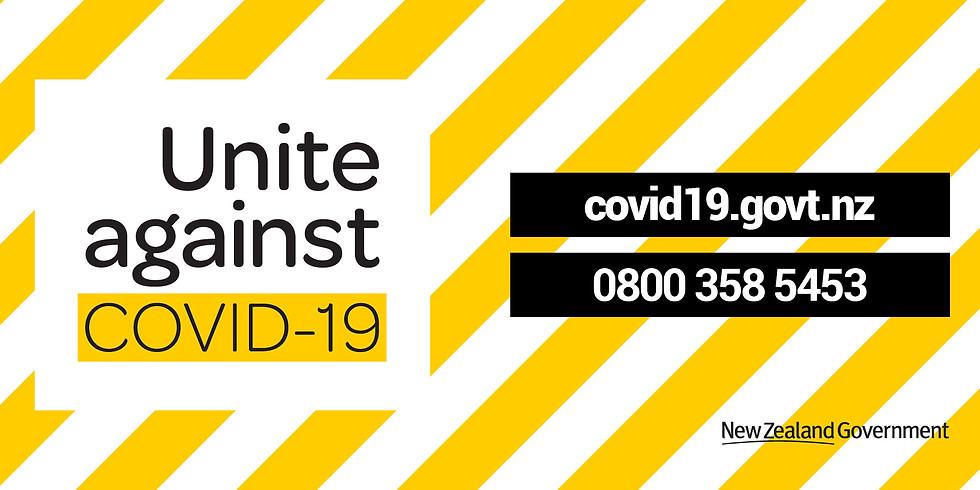 Centre closed due to Covid-19 Level 4