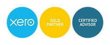 xero-gold-partner + cert-advisor-badges-