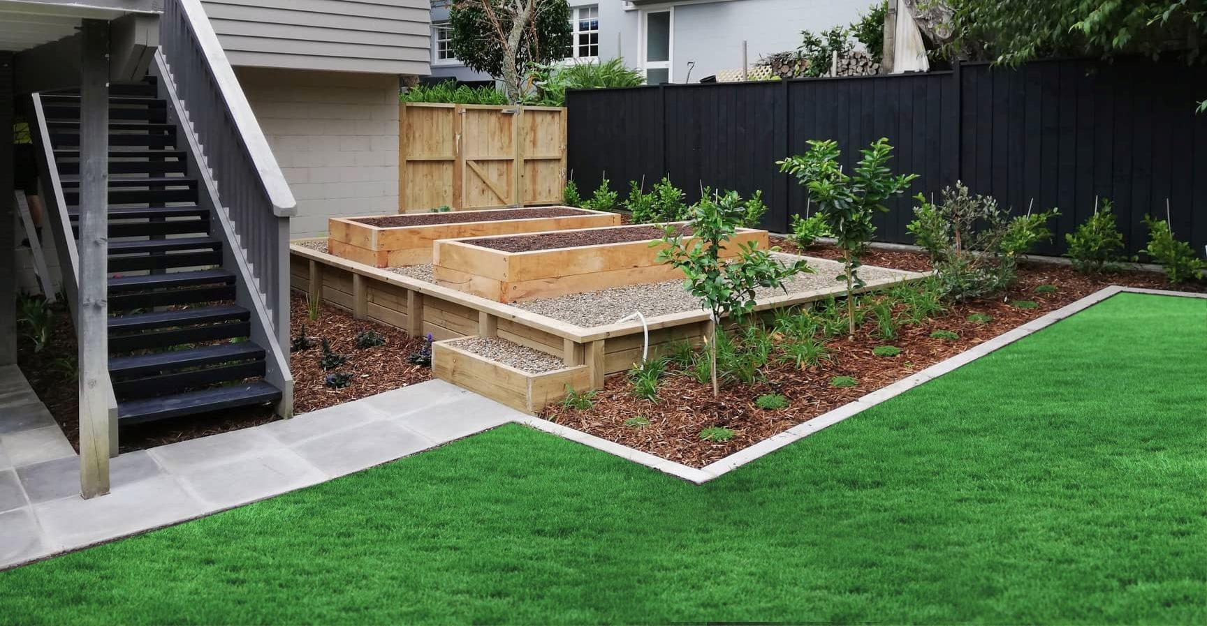 Designer gardens planter boxes
