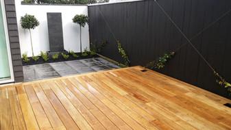 Designer Gardens new deck