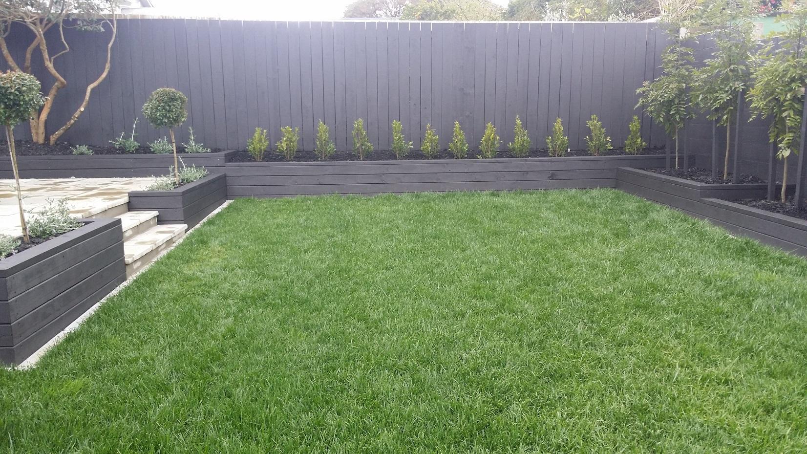 Designer gardens lawns