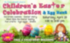 Kids Easter postcard 2019 Front FINAL.jp