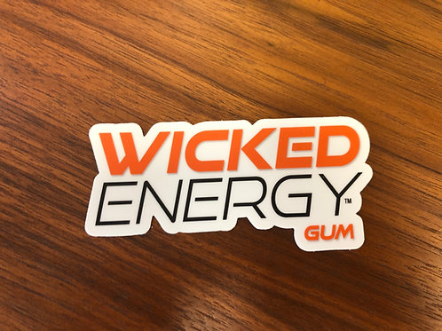 Wicked Energy Gum Decal Set