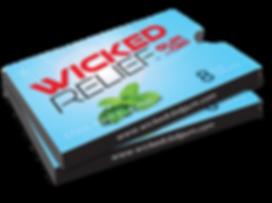 Wicked Relief CBD GUM Mockup Mockup 2 Pa