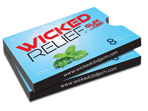 Wicked Relief Gum 2 - Pack