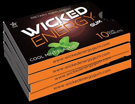 Wicked Energy Gum 4 - Pack