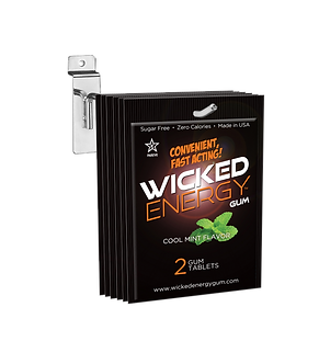 10 Wicked Energy Gum 2 Piece Packets