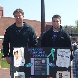 Bolton Volunteers at booth