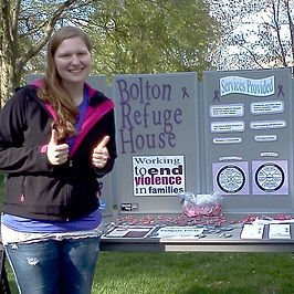 Bolton Refuge House Booth