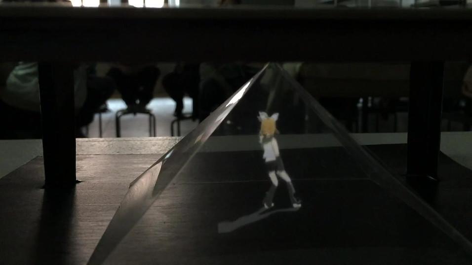 Dancing Anime Hologram