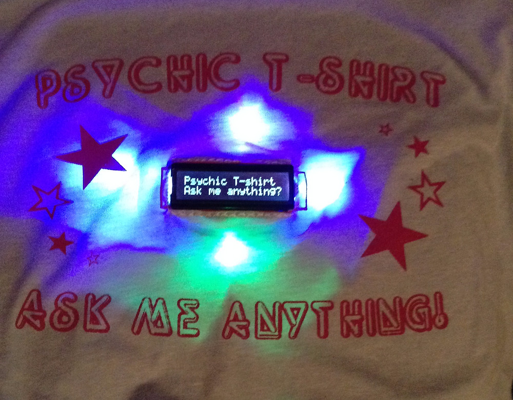Psychic T-Shirt detail