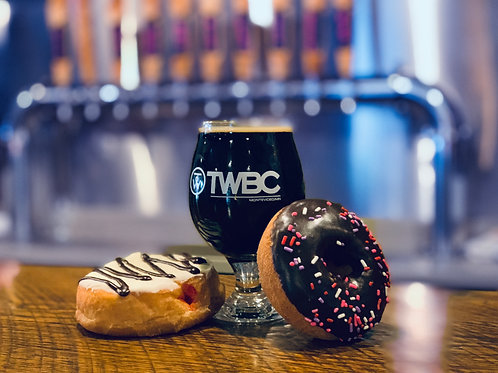 Beer + Donut Brunch
