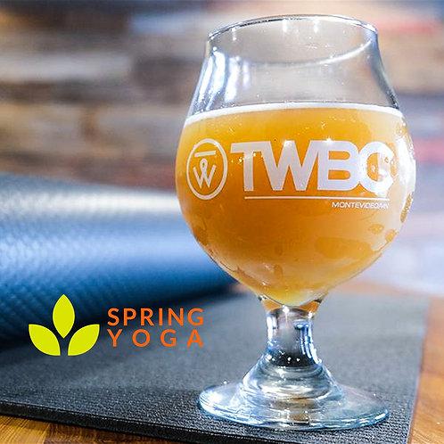 Yoga + Beer Ticket