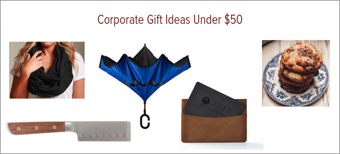 Corporate Gift Ideas Under $50