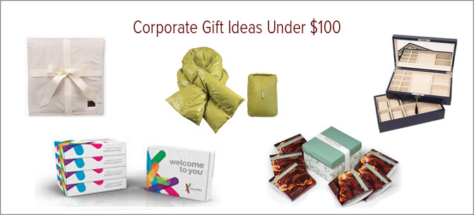 Corporate Gift Ideas Under $100