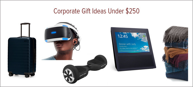 Corporate Gift Ideas Under $250