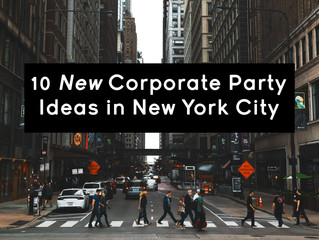 10 New Corporate Party Ideas Around New York City
