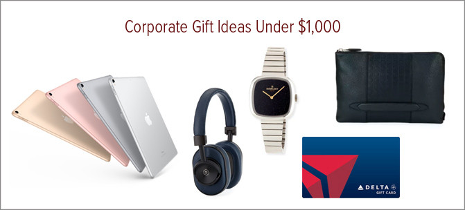 Corporate Gift Ideas Under $1000