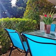 Private terrace!