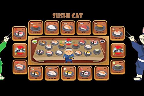 GET 5: SUSHI CAT