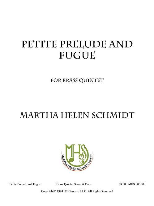 Petite Prelude and Fugue