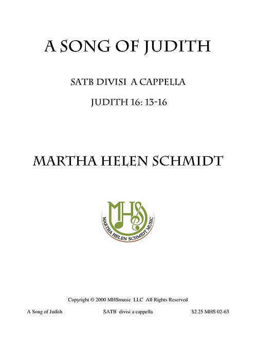 Song of Judith
