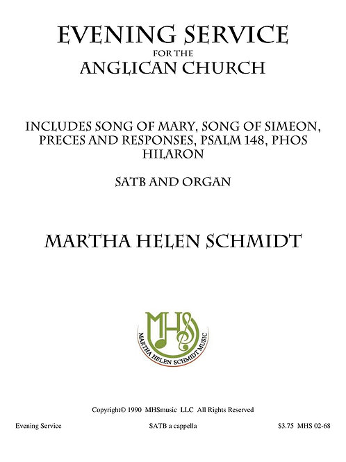 Evening Service (for the Anglican Church)