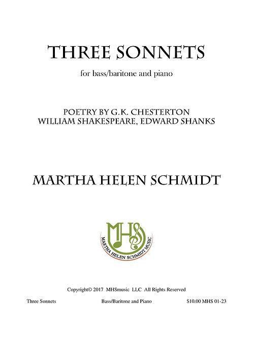 Three Sonnets