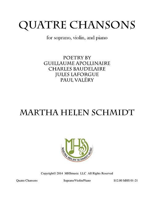 Quatre Chansons