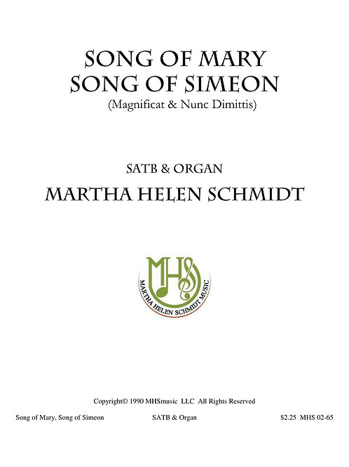 Song of Mary and Song of Simeon