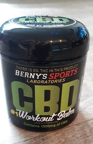 CBD #1 Workout Balm (8oz. Jar)
