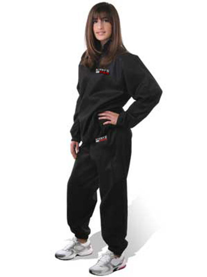 Sweat Sauna Suit Pants And Top With Deluxe Carry Bag