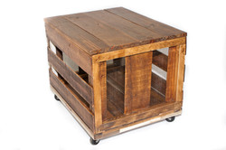 crate on casters