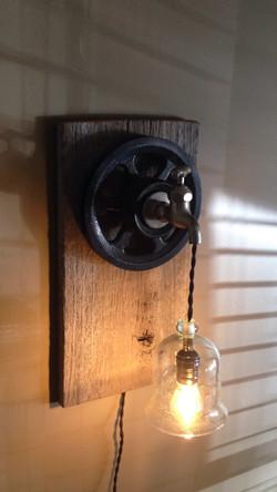Water spout light fixture