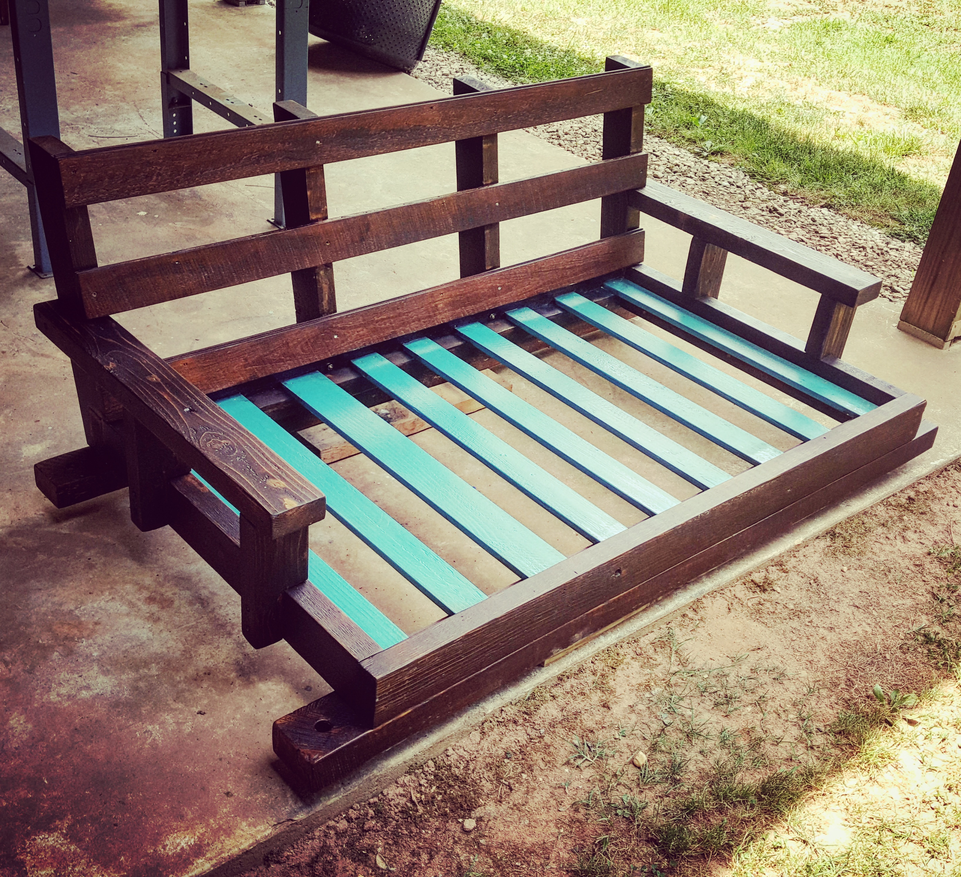 Crib Sized Swinging Bed 2