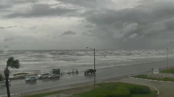 Effects of Harvey on Galveston Bay