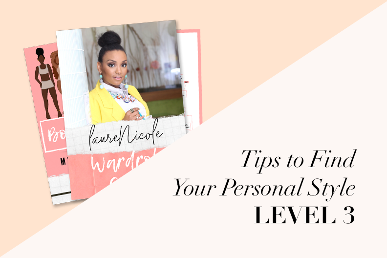 Tips to Find Your Personal Style LV.3