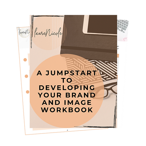 A Jumpstart to Developing Your Brand & Image (Early Entrepreneur  workbook)