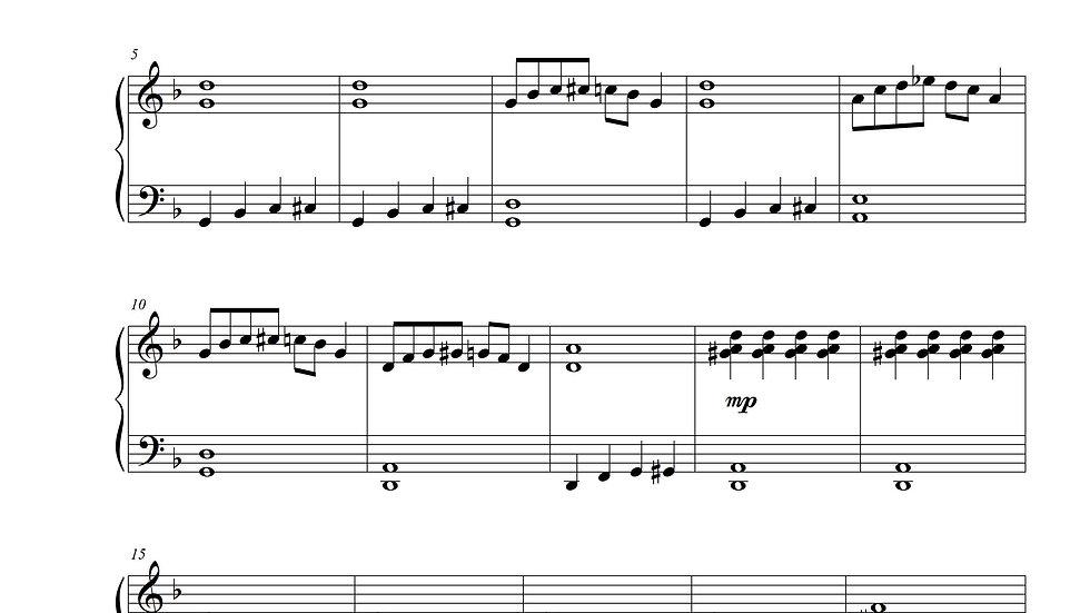 Cool Blues (Blues Piano)
