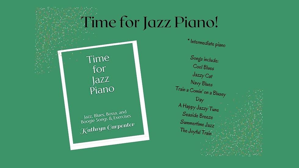 Time for Jazz Piano (Studio License)